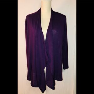 Rags & Couture Purple Lightweight Sweater